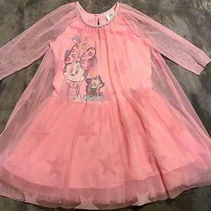 Disney Minnie mouse pink dress